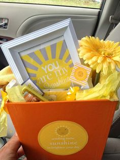 Little Inspirations: Scatter Sunshine Relief Society Activity (there are several other basket ideas on the post!)