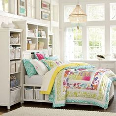 Teen Beach Bedroom; I have this bedding :))