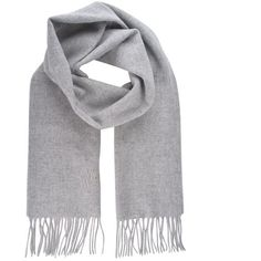 Vivienne Westwood Accessories Orb Tassel Scarf (4.825 RUB) ❤ liked on Polyvore featuring accessories, scarves, lt grey, grey shawl, gray scarves, tassel scarves, gray shawl and wool scarves