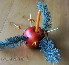 Výsledek obrázku pro tvoříme s dětmi vánoční ozdoby