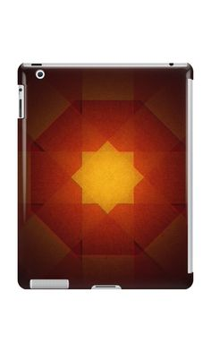Red and yellow star pattern by steveball