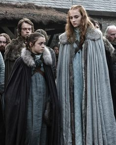 "70.1k Likes, 417 Comments - HBO (@hbo) on Instagram: ""Starks always stick together. #HBO #NationalSisterDay @gameofthrones @sophiet @maisie_williams"""