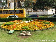 Relógio das Flores, Curitiba/Paraná