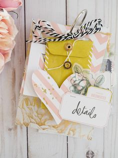 📚 🎀 Create a mini album that is perfect for capturing your favorite photos and handmade memories! The Emerson Lane […] Mini Scrapbook Albums, Scrapbook Cards, Mini Albums Scrap, Scrapbook Layouts, Freebies, Heidi Swapp, Handmade Tags, Album Book, Scrapbook Embellishments