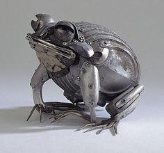 Crookedbrains: Edouard Martinet's Metal Sculptures.