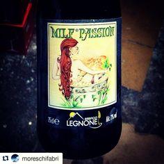 LEGNONISTI OVUNQUE! Thx@moreschifabri  Una birra con questo nome non può non essere buona #milfpassion #strongale