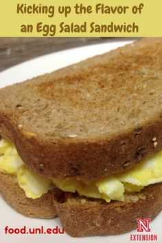 How to quickly kick up the flavor of an egg salad sandwich