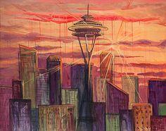 September in Seattle Art- SavyJaneStudios.com