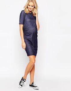Bluebelle Maternity | Bluebelle Maternity T-Shirt Dress at ASOS