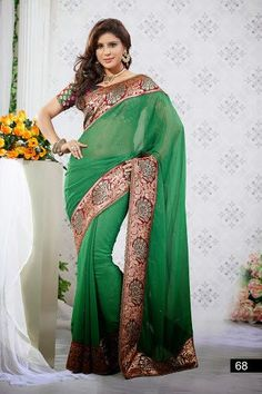 The sari is one size fits all. It comes with a unstitched blouse material. Delivery time is 1-3 weeks. If you need it expedited please contact us via phone or email.