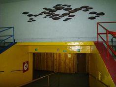 Plující zrna | Vetřelci a volavky Basketball Court