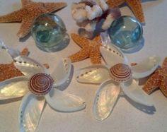 Santa Seashell Christmas Ornament Beach di CathysCoastCreations