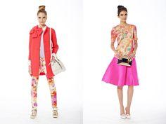 A linha de vestuário foi exibida na semana de moda em New York e se volta ao verão 2014/15.