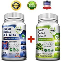 Cheap Pure Green Coffee Bean Extract  Colon Cleanse Detox Diet  Weight Loss and Detox Bundle  120 Veggie Capsules  Gluten Free  Non GMO (1 Month Supply) http://10healthyeatingtips.net/cheap-pure-green-coffee-bean-extract-colon-cleanse-detox-diet-weight-loss-and-detox-bundle-120-veggie-capsules-gluten-free-non-gmo-1-month-supply/