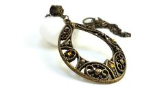 Hey, I found this really awesome Etsy listing at https://www.etsy.com/listing/204020169/antique-inspired-large-pendant-necklace
