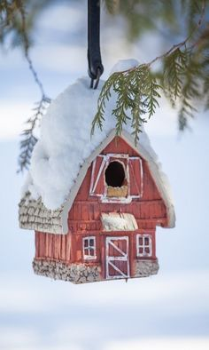 ❄cute bird house