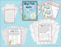 Big Fish Math ~ Timed Addition or Subtraction Programs