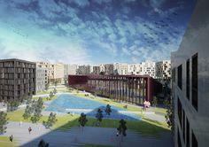 Kartal Yesil Kusak | Super Eight  #urban #urbandesign #regeneration #green #urbangreen