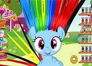 Rainbow Dash Hair Salon | juegos my little pony - jugar mi pequeño pony