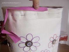 Ježikůže HandMade: Velká jarní taška - návod Horn, Tote Bag, Handmade, Bags, Scrappy Quilts, Handbags, Hand Made, Horns, Totes