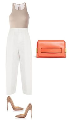 """Untitled #64"" by thabile-zungu on Polyvore featuring Rick Owens, Christian Louboutin and Chloé"