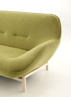 COSSE Upholstered sofa by @ligneroset  design Philippe Nigro