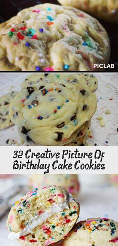 Birthday Cake Cookies Birthday Cakes W Birthday And Birthday Cake Cookies Pinter… – birthdaycakeideas Queens Birthday Cake, Sweet Birthday Cake, 25th Birthday Cakes, Mermaid Birthday Cakes, Cookie Cake Birthday, Birthday Cakes For Women, Birthday Cake Girls, Cake Mix Cookie Recipes, Biscuits