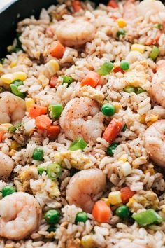 Discover what are Chinese Fish And Shellfish Food Preparation Shellfish Recipes, Seafood Recipes, Cooking Recipes, Shrimp Fried Rice, Asian, Seafood Dishes, Easy Dinner Recipes, Easy Recipes, Diabetic Recipes