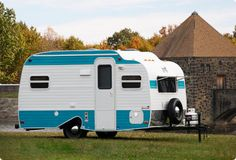 This is what I consider the perfect trailer for camping. Love it!