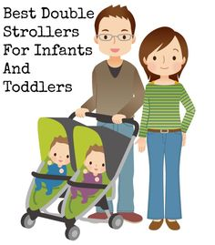 Got twins? How about a toddler with another on the way? Whatever the reason, sometimes you need one of these great double stroller for infants and toddlers!