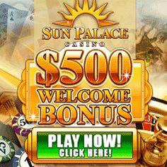 Sun Palace Online Casino Bonus #casino #slots #blackjack #bonus #KajotBabes