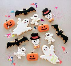 Helloween motif cookies