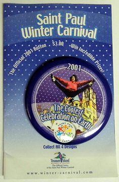 19bd9b66697 Vintage 2001 Saint Paul Minnesota Winter Carnival