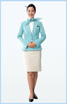 korea air uniform