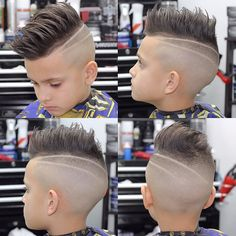 It's never too early in life to be stylish. These cool hairstyles for boys make the most of the thick hair so many boys have withclassic cuts, some of the latest trends and haircuts for