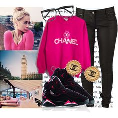"""""""I do it big & shut it down."""" by cheerstostyle on Polyvore"""
