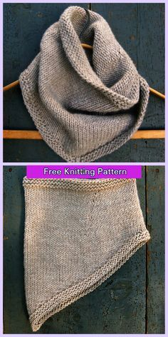 Crochet Blanket Patterns, Knitting Patterns Free, Knit Patterns, Free Knitting, Free Pattern, Bandana, Tricot Simple, Debbie Macomber, Black And White Baby