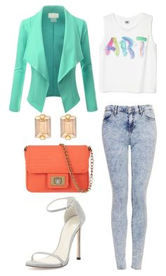 """Untitled #69"" by mzneaya ❤ liked on Polyvore featuring Topshop, Stuart Weitzman, Henri Bendel and Juicy Couture"