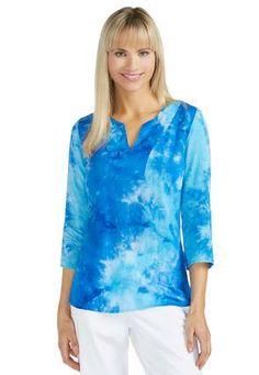 Cato Fashions Tie Dye Tunic #CatoFashions #catosummerstyle