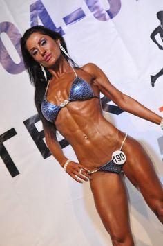 Hardline Nutrition Athlette Şenay Günay, 2014 Türkiye Bikini Fitness Champion also IFBB Wolrd 3 .th