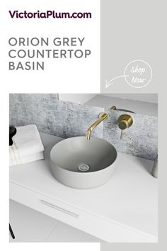 Add an on-trend edge to your designer bathroom with this premium grey countertop basin from Mode Bathrooms. Countertop Basin, Grey Countertops, All Design, House Design, Wall Mounted Basins, Basin Taps, Bathroom Basin, Basin Mixer, Vanity Units