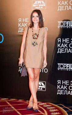 Miroslava Duma - Marni dress, Chloe necklace, Fendi bag, Miu Miu shoes. (August 2011)