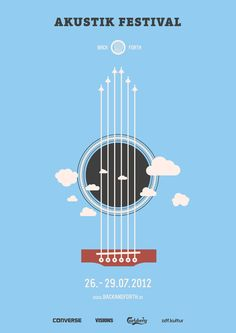 Back and Forth Music Festival on Behance — Designspiration