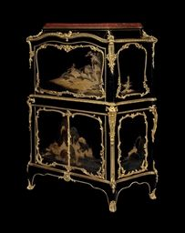 BY BERNARD II VAN RISEN BURGH (BVRB), CIRCA 1756-7