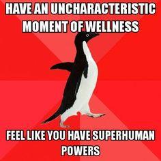 Chronic illness. Spoonie