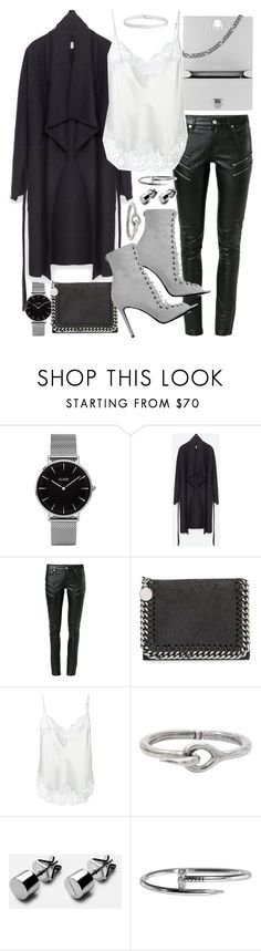 """""""Untitled #20207"""" by florencia95 ❤ liked on Polyvore featuring Topshop, Zara, Yves Saint Laurent, STELLA McCARTNEY, Givenchy, Acne Studios and Boohoo"""