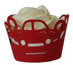 All About Details Red Cars Cupcake Wrappers Set of 12 >>> Read more reviews of the product by visiting the link on the image.