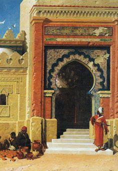 Ориентализм в европейской живописи Ориентализм - использование мотивов и стилистических приемов восточного искусства, а также истории, сюжетов восточного быта в европейской живописи и вообще культуре. В эпоху великих географических открытий и колониальной экспансии ориентализм носил преимущественно…