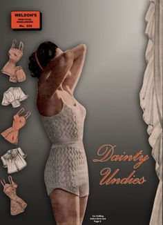 Weldons-9D-229-c-1930s-Vintage-Knitting-Patterns-for-Dainty-Undies-REPRO
