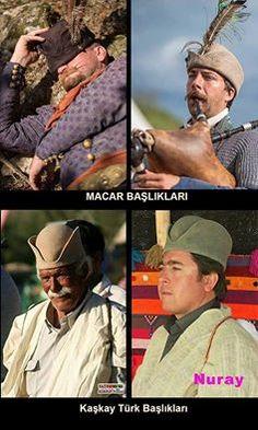 Macar ve Kaşkay Türklerinin kullandığı Keçe Başlıklar..